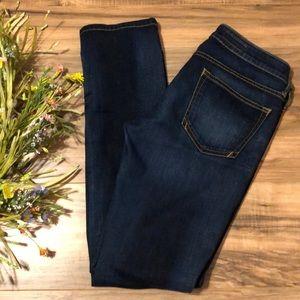 Pilcro & the Letterpress Low Rise Straight Jeans